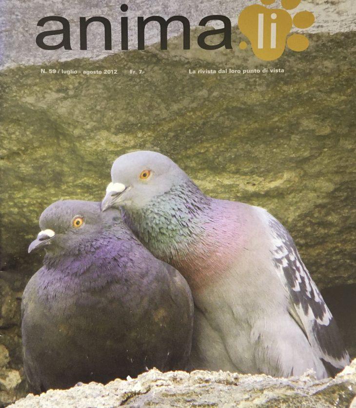 Rivista Animali copertina no. 59