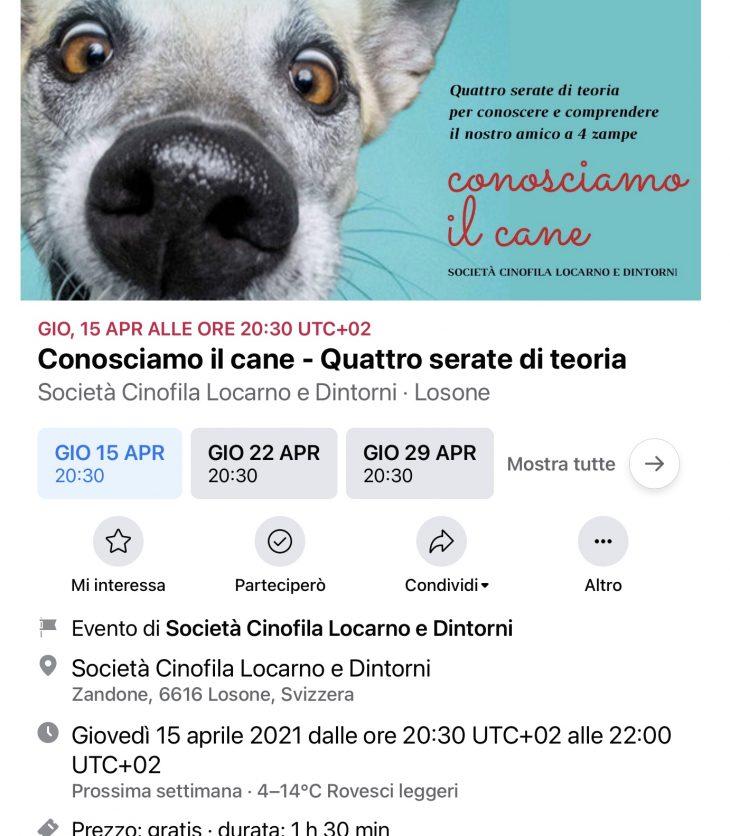 SCLD conoscere il cane